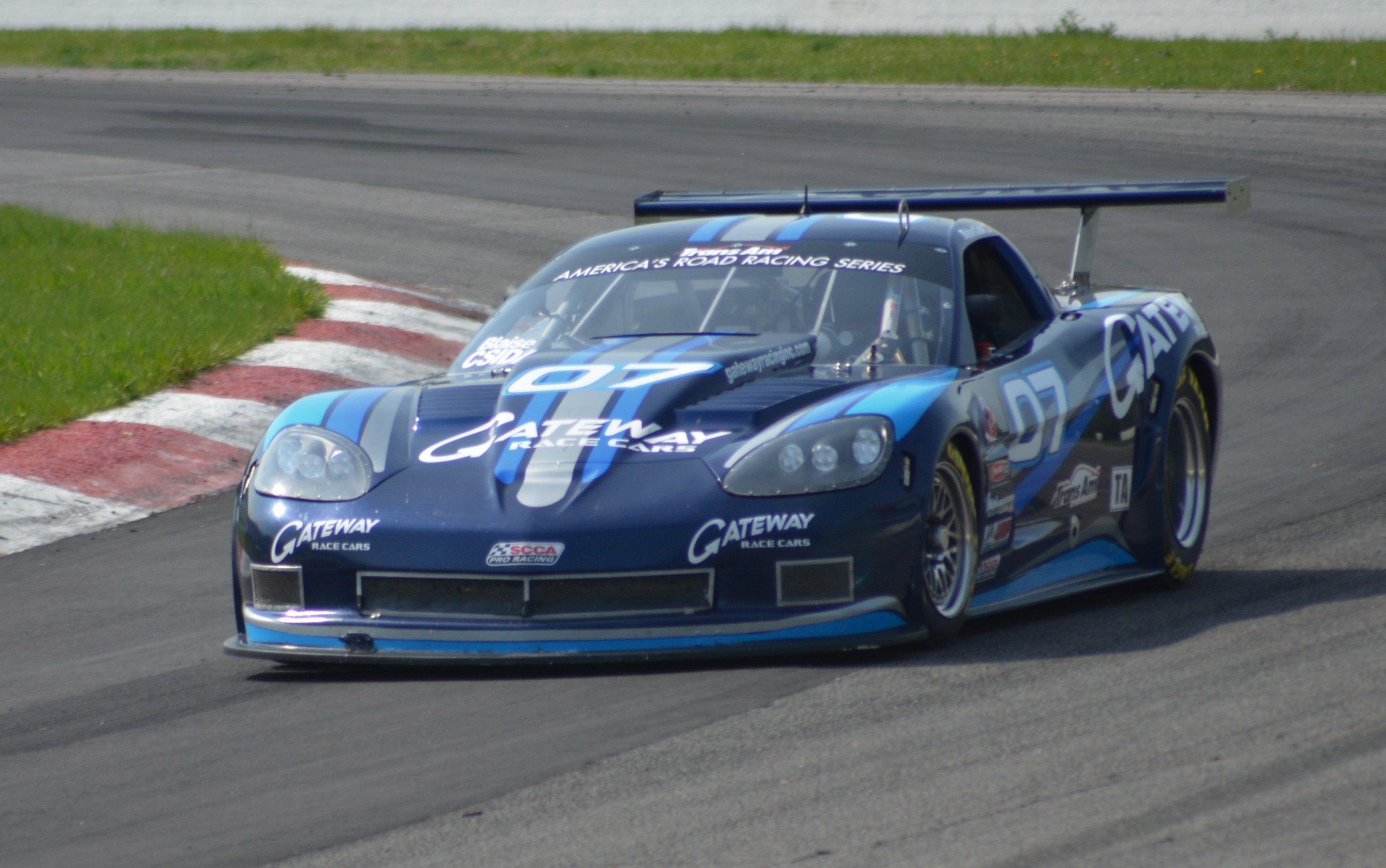 2008 Trans Am Corvette   BC Race Cars